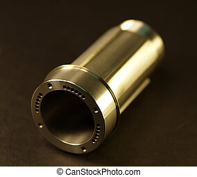 Beautiful Machining - This is a picture of a custom milled ...