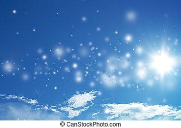 Beautiful magic sky