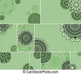 Beautiful mandala design background