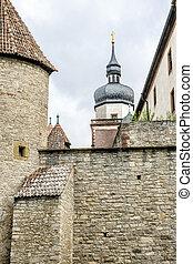 Marienberg fortress in Wurzburg, Bavaria, Germany