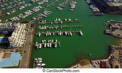 Beautiful marina in Vilamoura, Quarteira, Portugal - Modern...