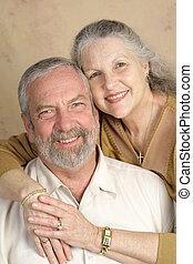 Beautiful Mature Couple - A beautiful, happy middle-aged ...
