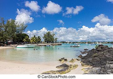 Beautiful Mauritius Beach