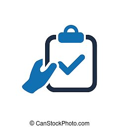 Beautiful, Meticulously Designed Checklist, SEO audit icon