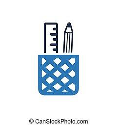 Pen Holder Icon
