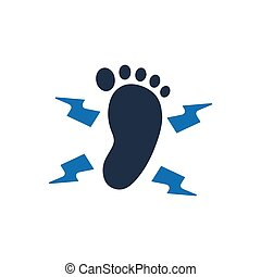 Tingling Feet Icon - Beautiful, Meticulously Designed...