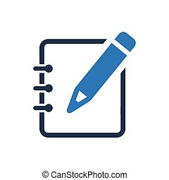 Write a Note Icon
