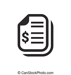 Financial Statement Icon