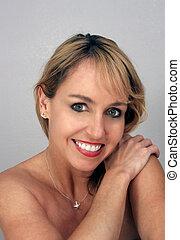Beautiful Middle-age Blonde Headshot (6)