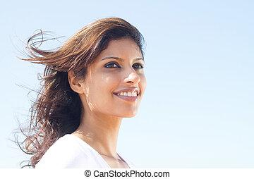beautiful middle eastern woman