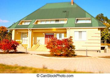 Architectural Bungalow House Exterior Design