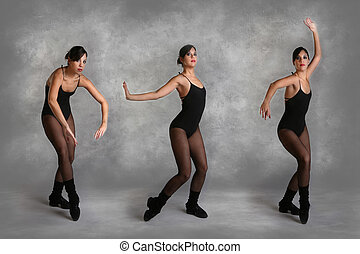 Beautiful Modern Dancer in Various Poses