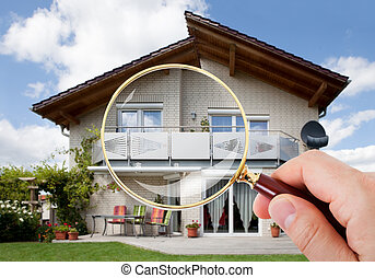 Beautiful modern dream home - Image of beautiful new single...