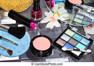 Beautiful modern make up