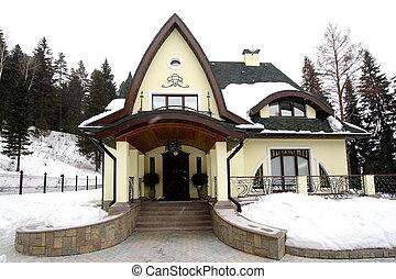 modern private residence