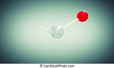 Beautiful Molecule Structure