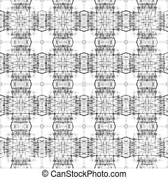 beautiful monochrome objects on white background seamless pattern vector illustration