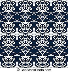 beautiful monochrome vintage seamless pattern