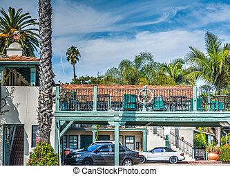 Beautiful motel in Southern California