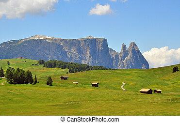 Beautiful mountain landscape in Alps