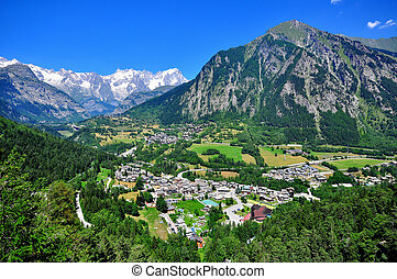 Beautiful mountain landscape in northern Italy