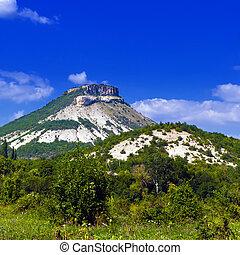 Beautiful mountain landscape. The Crimean Peninsula, Ukraine.