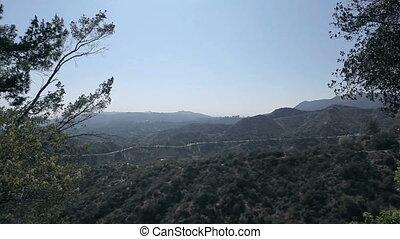 Beautiful mountain view. Los Angeles, California.