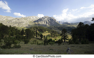 Beautiful mountain views Isparta - Turkey