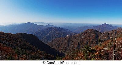 Beautiful mountains in Korea, Sorak Mountain