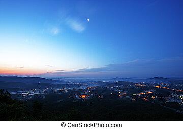 Beautiful mountains in south korea, Heukseongsanseong