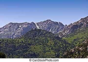 Beautiful mountains of Tien Shan
