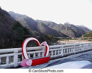 Beautiful mountains Seoraksan in South