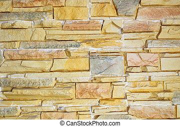 Beautiful multi-colored stone
