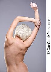 beautiful naked blonde