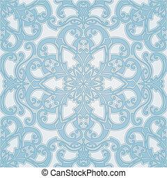 beautiful natural seamless geometric tile design