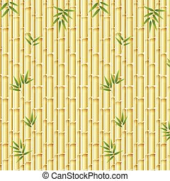 Beautiful nature bamboo template