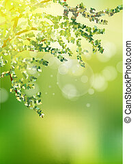 Beautiful Nature Bokeh. EPS 10