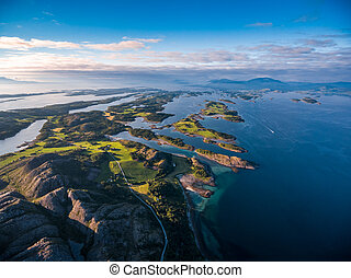Beautiful Nature Norway aerial photography. - Beautiful ...