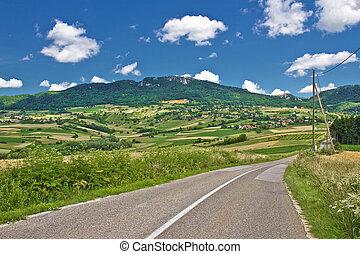 Beautiful nature of Kalnik mountain, Prigorje, Croatia