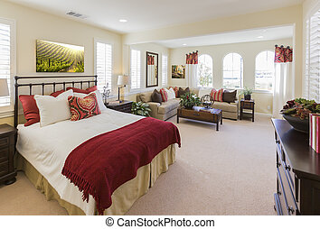 Beautiful New Custom Bedroom Interior