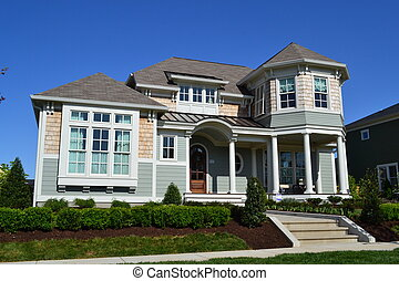 Beautiful New England Style House