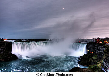 Niagara Falls - Beautiful Niagara Falls in the Ontario...