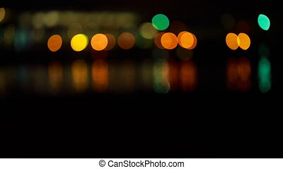 Beautiful night bokeh