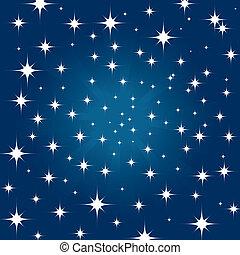 Beautiful night star sky background - Beautiful night star...