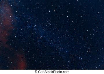 night starry sky