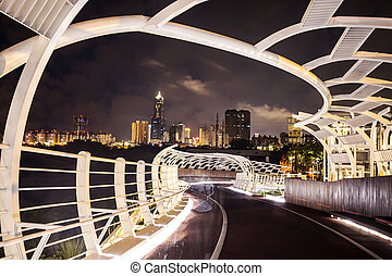 Beautiful night view of Kaohsiung