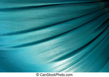 beautiful of blue satin background
