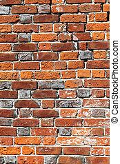 Beautiful old brick wall
