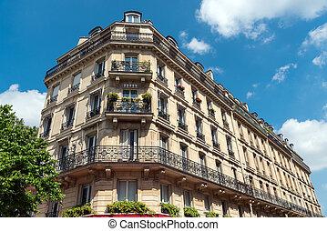 Beautiful old building in Paris