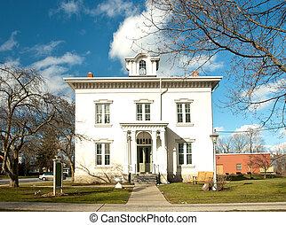 beautiful old mansion